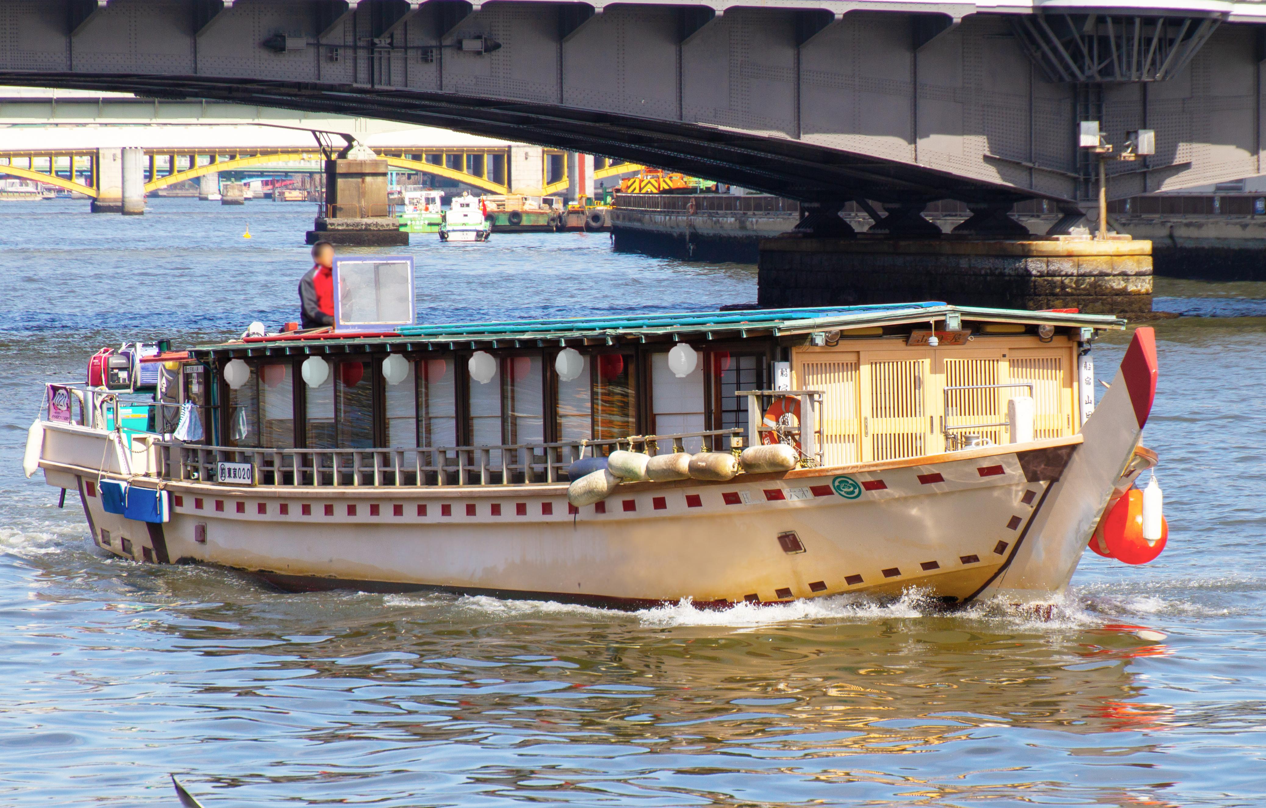 屋形船つき丸