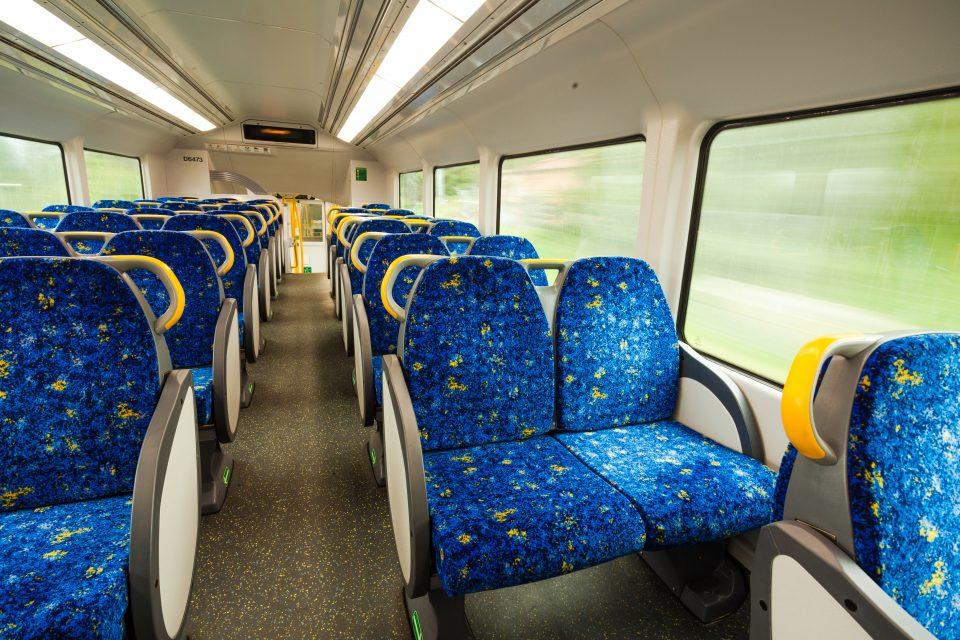 大型バスの車内イメージ