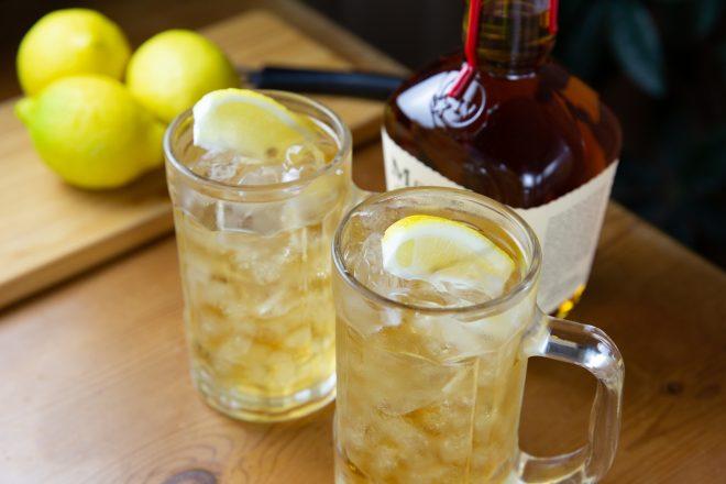 レモンの入ったお酒