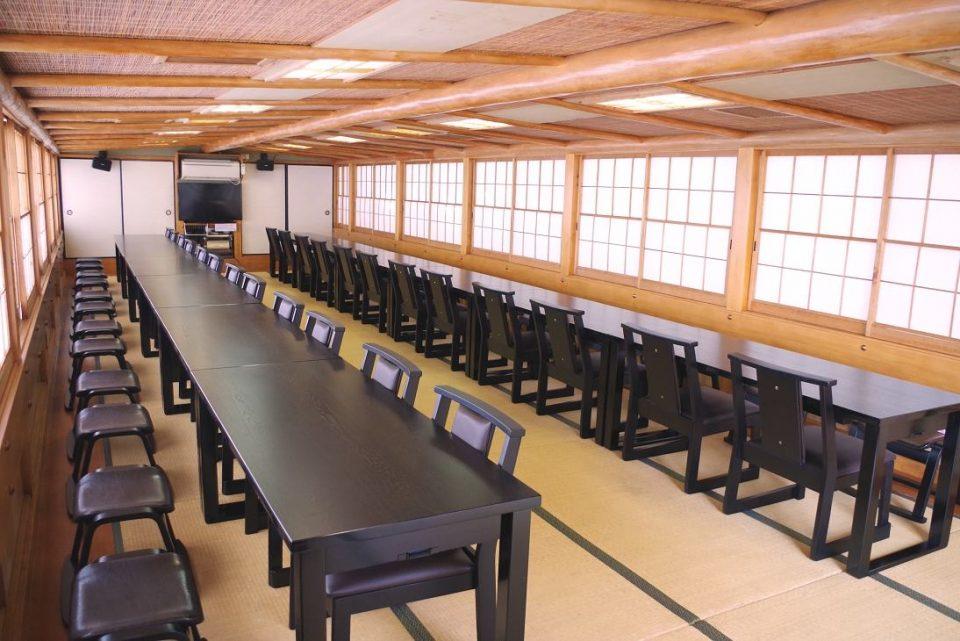 Table layout of Segawa-maru