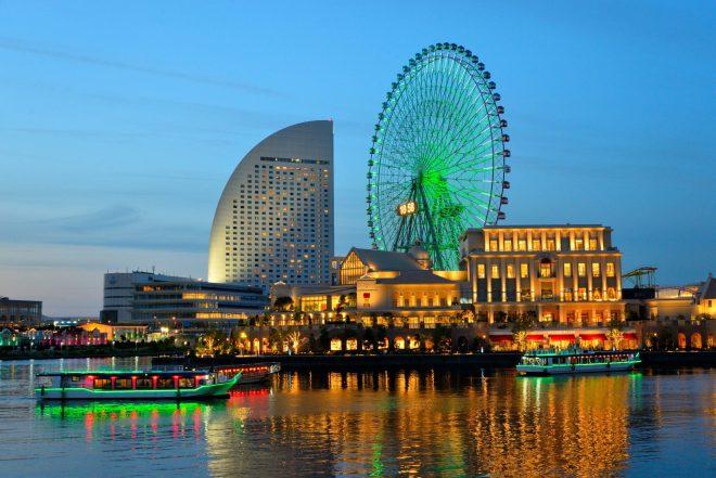 華やかな横浜の夜景