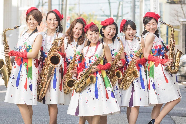女性JAZZグループの集合写真