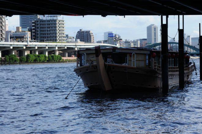 純和風な屋形船
