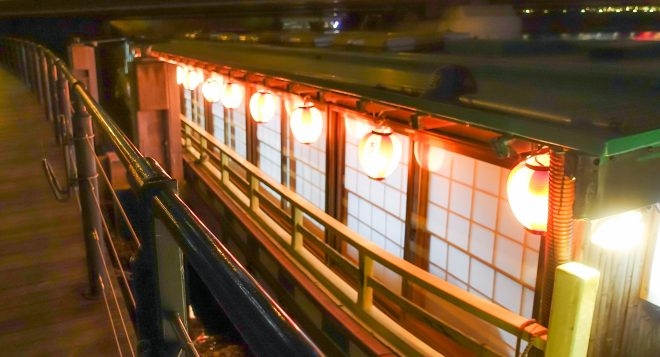 横浜屋形船「つき丸」の外観