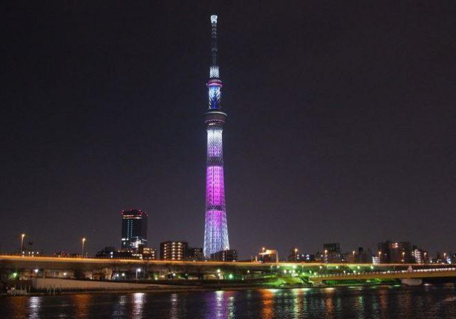 東京の有名スポット「スカイツリー」