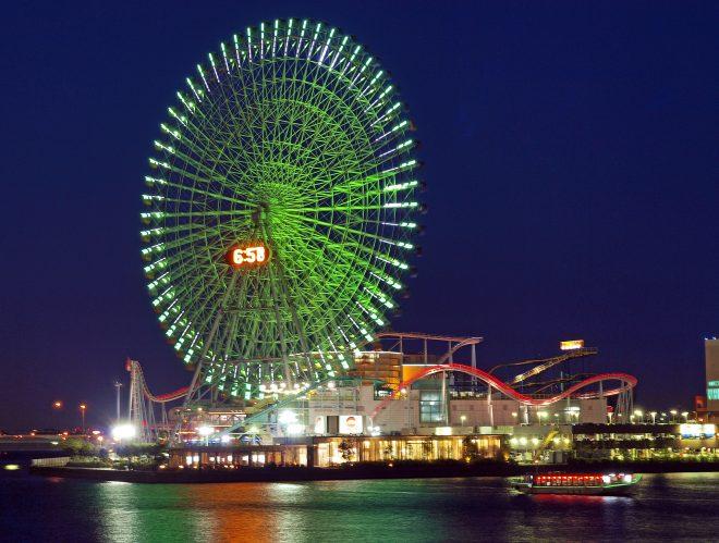 横浜の有名な観覧車