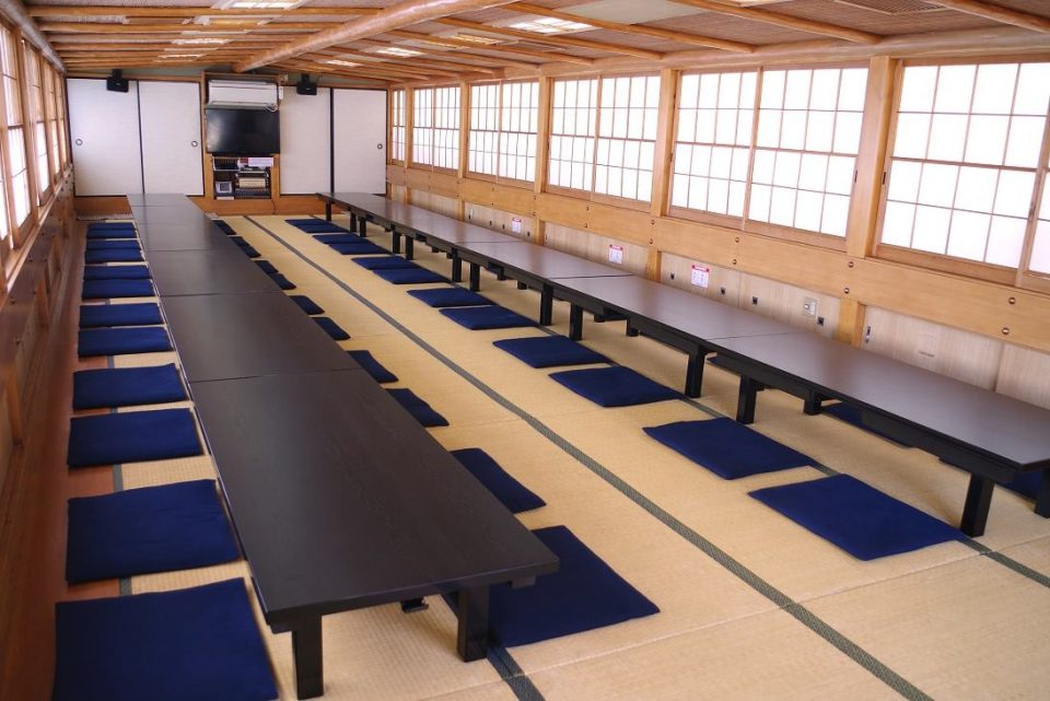 Tatami style layout in Segawa-maru